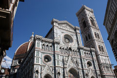 Baptistery and Dome n.2. Famous Baptistery and Dome of Florence Stock Images