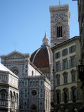 Baptistery and Dome n.4. Famous Baptistery and Dome of Florence Royalty Free Stock Photos