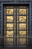 Baptistery Doors - Florence - Italy Royalty Free Stock Photo