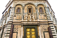 Baptistery. Duomo Baptistery golden doors, Florence, Italy Stock Photo