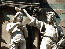 Baptistery - Florença Fotografia de Stock Royalty Free