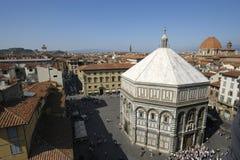 Baptistery, Florença Fotos de Stock Royalty Free