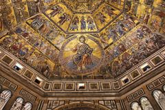 Baptistery in Florence, Italy Royalty Free Stock Image