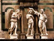 Baptistery - Florenz Italien lizenzfreies stockfoto