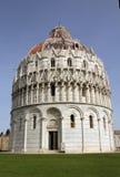 Baptistery i Piza Fotografering för Bildbyråer