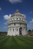 Baptistery in the `Miracle Place` in Pis Stock Images