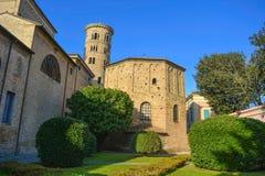 Baptistery of the Orthodox. Ravenna - Italy Royalty Free Stock Photo