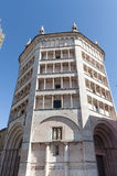 Baptistery of Parma Stock Photo