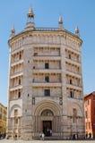 Baptistery of Parma, Emilia-Romagna, Italy. Stock Photography