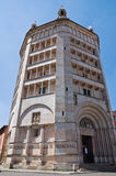 Baptistery. Parma. Emilia-Romagna. Italy. Royalty Free Stock Images