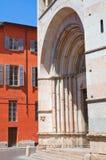 Baptistery. Parma. Emilia-Romagna. Italy. Stock Photos
