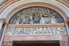 Baptistery of Parma. Emilia-Romagna. Italy. Stock Photo