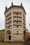 Baptistery of Parma Royalty Free Stock Photo