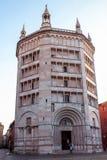 The Baptistery of Parma, Italy stock photos