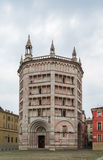 Baptistery of Parma, Italy Royalty Free Stock Photography