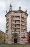 Baptistery of Parma, Italy Royalty Free Stock Images