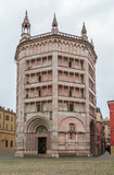 Baptistery Parma, Włochy Obrazy Royalty Free