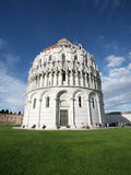Baptistery in Piazza dei Miracoli in Pisa Stock Image