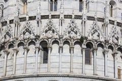 Baptistery, piazza dei Miracoli, Pisa Fotografia Royalty Free
