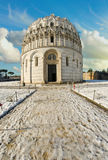 Baptistery in Piazza dei Miracoli, Pisa Stock Photos