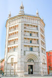 Baptistery on Piazza del Duomo in Parma, Emilia-Romagna, Italy Royalty Free Stock Photo