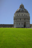 Baptistery of Pisa Royalty Free Stock Images