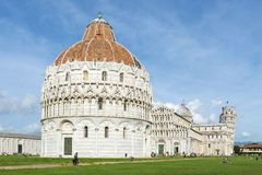 Baptistery Pisa Stock Photography