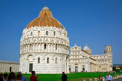 Baptistery in Pisa Royalty Free Stock Photos