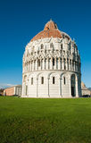 Baptistery in Pisa Stock Photo