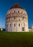 Baptistery in Pisa Stock Images