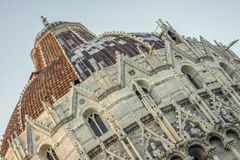 Baptistery of Pisa Royalty Free Stock Photography