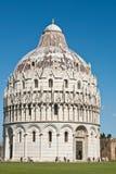 Baptistery in Pisa Italy Royalty Free Stock Photo