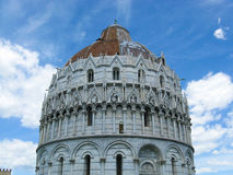 Baptistery in Pisa Stock Photos