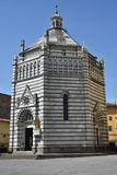 Baptistery Pistoia, Toskana - Italien Lizenzfreie Stockfotografie
