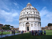 Baptistery, Piza, Italy Stock Images