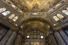 Baptistery of saint John, Florence, Italy Royalty Free Stock Images