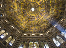 Baptistery of saint John, Florence, Italy Stock Images