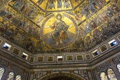 Baptistery of saint John, Florence, Italy Stock Image