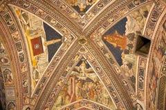 Baptistery San Giovanni, Siena, Tuscany, Włochy Fotografia Stock