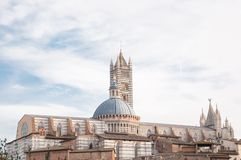 Baptistery of Siena Stock Images
