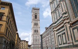Baptistery of St. John and Florence Cathedral, Italy Royalty Free Stock Image