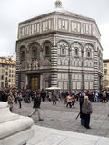 Baptistery of St. John in Piazza del Duomo, Florence Royalty Free Stock Photos