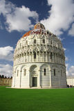 Baptistery of St. John in Pisa Stock Photo