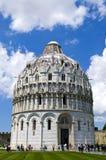 Baptistery of St. John, Pisa, Italy Royalty Free Stock Photos