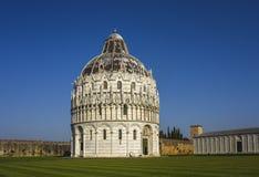 Baptistery St John, Pisa, Tuscany, Włochy, Europa Zdjęcie Royalty Free