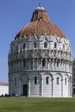 Baptistery St John, Pisa, Włochy - Zdjęcia Stock