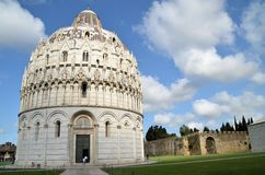 Baptistery of St. John - Square of Miracles Royalty Free Stock Photos