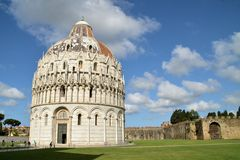 Baptistery of St. John - Square of Miracles Royalty Free Stock Photo