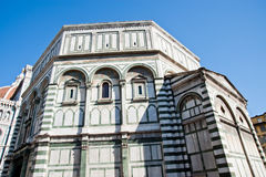 Baptistery van Florence royalty-vrije stock fotografie
