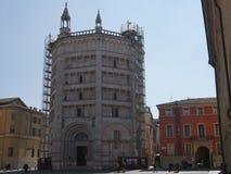Baptistery van Parma royalty-vrije stock foto's
